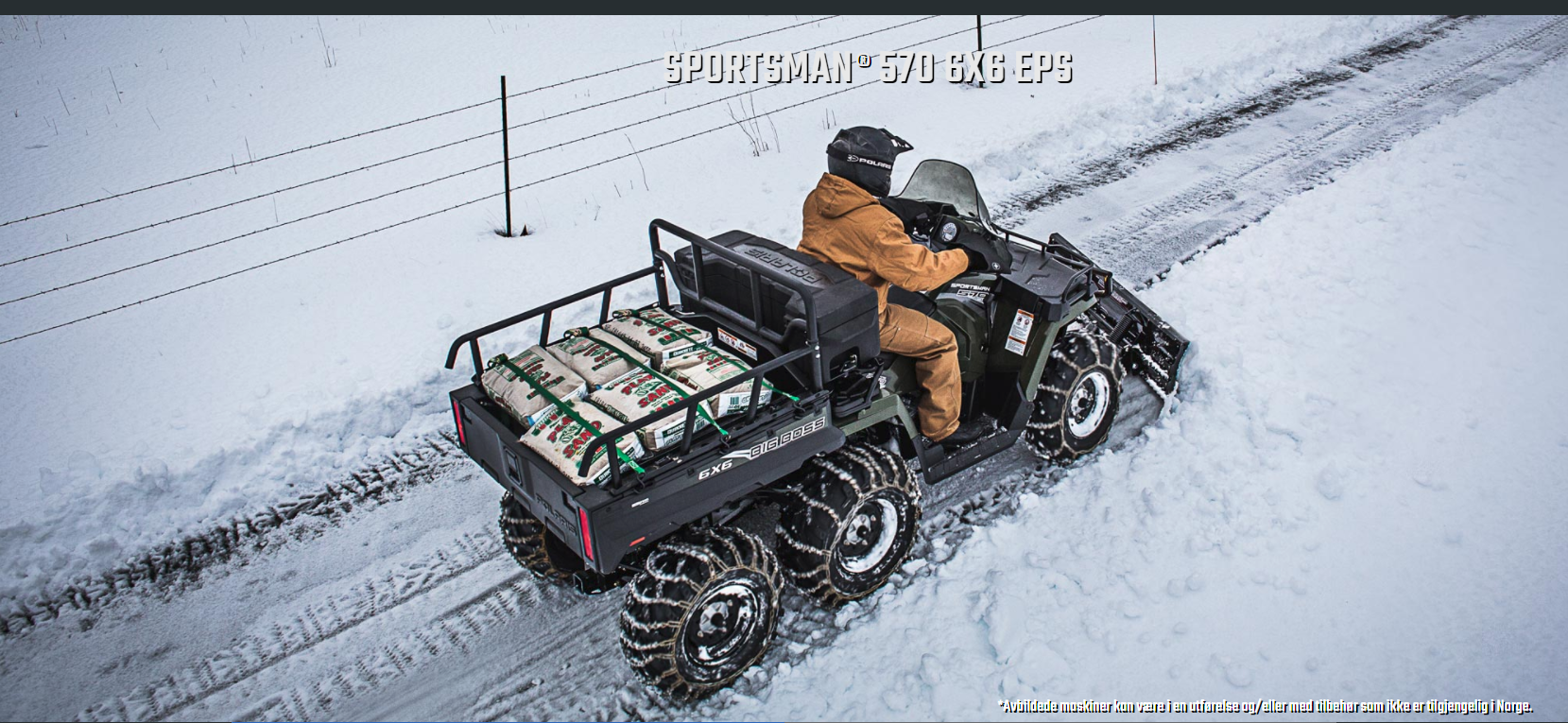 Sportsman 570 6X6 EPS